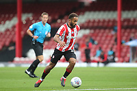 Bryan Mbeumo of Brentford in action during Brentford vs Charlton Athletic, Sky Bet EFL Championship Football at Griffin Park on 7th July 2020