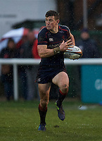 Pete Lydon of London Scottish Football Club during the Greene King IPA Championship match between London Scottish Football Club and Rotherham Titans at Richmond Athletic Ground, Richmond, United Kingdom on 1 January 2017. Photo by Alan  Stanford.