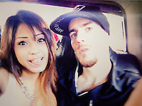 An undated handout photo shows Alexander O'Neill (31) and Stephanie Valenzuela (22) in Hong Kong, China, 25 September 2015. <br /> Alexander O'Neill (31) and Stephanie Valenzuela (22) are seen in Hong Kong, China, 25 September 2015.  Alexander O'Neill (31) an ex-friend of Tsang and his girlfriend Valenzuela helped bring Stephen Tsang to justice.