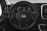 Car pictures of steering wheel view of a 2015 Opel Vivaro Sportive 4 Door Combi 2WD Steering Wheel