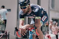 Guillaume Van Keirsbulck (BEL/Wanty-Groupe Gobert) solo's in front of everybody else for 190 kilometers <br /> <br /> 104th Tour de France 2017<br /> Stage 4 - Mondorf-les-Bains › Vittel (203km)