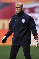 USMNT goalkeeper Tim Howard (1)    The USMNT tied Costa Rica 2-2 on the final game of the 2010  FIFA World Cup Qualifying round at RFK Stadium,Wednesday  October 14 , 2009.