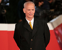 """US film director John Waters poses on the red carpet for the screening of the film """"Soul"""" during the 15th Rome Film Festival (Festa del Cinema di Roma) at the Auditorium Parco della Musica in Rome on October 15, 2020.<br /> UPDATE IMAGES PRESS"""