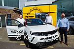 Aherns Opel Sales Team, l to r:  Pat Ahern, Barry Ryan and Seamus Murphy