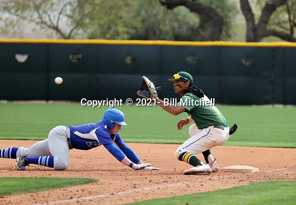 Kiko Romero - 2021 Central Arizona College Vaqueros (Bill Mitchell)