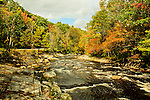 A New England River in autumn.