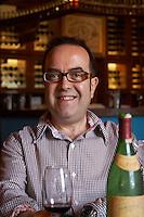 Yannis Voyatzis, chief oenologist winemaker. Boutari Wineries, Steinmachos, Naoussa, Macedonia, Greece