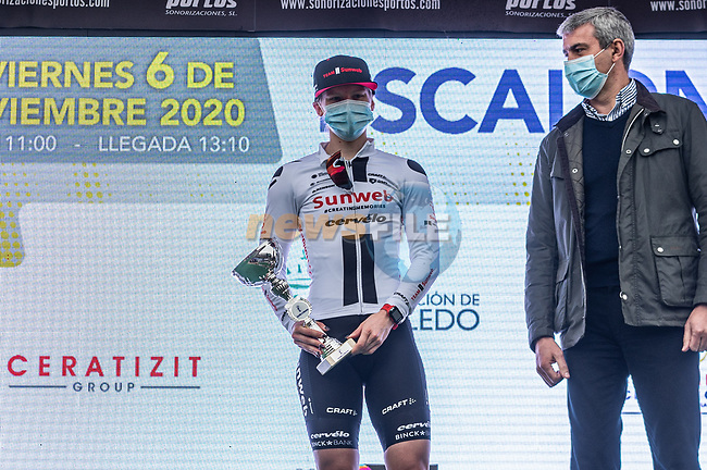 Lorena Wiebes (NED) Team Sunweb wins Stage 1 of the CERATIZIT Challenge by La Vuelta 2020, running 82.8km from Toledo to Escalona, Spain. 6th November 2020.<br /> Picture: Antonio Baixauli López/BaixauliStudio | Cyclefile<br /> <br /> All photos usage must carry mandatory copyright credit (© Cyclefile | Antonio Baixauli López/BaixauliStudio)