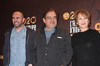 JULIEN ARRUTI, DIDIER BOURDON ET NATHALIE BAYE - 20EME FESTIVAL INTERNATIONAL DU FILM DE COMEDIE DE L'ALPE D'HUEZ 2017