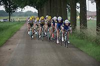 Gianni Meersman (BEL/Etixx-Quickstep) leading the way<br /> <br /> stage 3: Buchten - Buchten (NLD/210km)<br /> 30th Ster ZLM Toer 2016