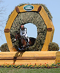 April 26, 2014: Veronica and Lauren Kieffer compete in Cross Country at the Rolex Three Day Event in Lexington, KY at the Kentucky Horse Park.  Candice Chavez/ESW/CSM