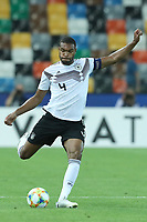 Jonathan Tah of Germany in action<br /> Udine 17-06-2019 Stadio Friuli <br /> Football UEFA Under 21 Championship Italy 2019<br /> Group Stage - Final Tournament Group B<br /> Germany - Denmark<br /> Photo Cesare Purini / Insidefoto