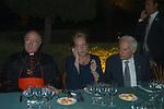 CARDINALE RENATO RAFFAELE MARTINO CON LETIZIA CAPRONI