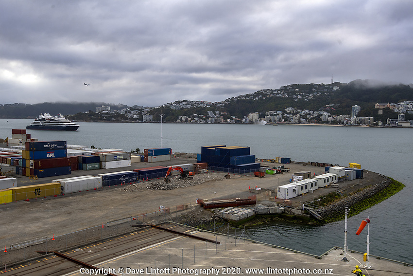 CentrePort in Wellington, New Zealand on Monday, 20 January 2020. Photo: Dave Lintott / lintottphoto.co.nz