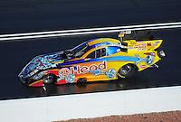 Apr. 1, 2011; Las Vegas, NV, USA: NHRA funny car driver Jim Head during qualifying for the Summitracing.com Nationals at The Strip in Las Vegas. Mandatory Credit: Mark J. Rebilas-