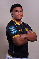 Xavier Numia. 2021 Wellington Lions official rugby headshots at Rugby League Park in Wellington, New Zealand on Monday, 26 July 2021. Photo: Dave Lintott / lintottphoto.co.nz