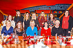 Enjoying Women's Christmas in Ristorante Uno on Saturday night.<br /> Seated l to r: Eileen O'Sullivan, Joelyn Piggott, Audrey Courtney, Ann Marie and Anna Quirke.<br /> Standing l to r: Amy Prenderville, Evelyn Foley, Jean, Lana and Lisa O'Shea, Ita Power and Caroline Foley.
