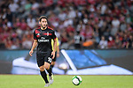 AC Milan Midfielder Hakan Calhanoglu celebrating in action during the 2017 International Champions Cup China match between FC Bayern and AC Milan at Universiade Sports Centre Stadium on July 22, 2017 in Shenzhen, China. Photo by Marcio Rodrigo Machado/Power Sport Images