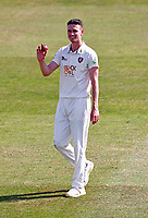 Nathan Gilchrist celebrates his five wicket haul for Kent during Kent CCC vs Worcestershire CCC, LV Insurance County Championship Division 3 Cricket at The Spitfire Ground on 5th September 2021
