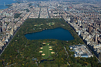 aerial photograph of Central Park, Manhattan, New York City