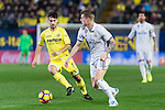 Toni Kroos (r) of Real Madrid and Manuel Trigueros Muñoz of Villarreal CF in action during their La Liga match between Villarreal CF and Real Madrid at the Estadio de la Cerámica on 26 February 2017 in Villarreal, Spain. Photo by Maria Jose Segovia Carmona / Power Sport Images