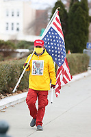WASHINGTON, D.C. - JANUARY 6: Trump Supporters Descend On Washington D.C. ahead of the March For Trump Rally to protest the 2020 election results where Trump lost both the Electoral College and popular votes on January 6, 2021. <br /> CAP/MPI34<br /> ©MPI34/Capital Pictures