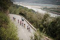 leading group<br /> <br /> Stage 8: Nice to Nice (110km)<br /> 77th Paris - Nice 2019 (2.UWT)<br /> <br /> ©kramon