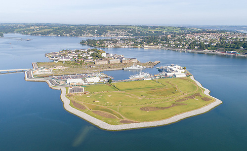 Haulbowline Amenity Park includes 4km of harbour side walkways, a 1km jogging circuit and numerous seating areas to stop and take in the views of Cork Harbour. The park has also been extensively landscaped