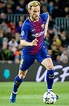 Ivan Rakitic of FC Barcelona in action during the UEFA Champions League 2017-18 quarter-finals (1st leg) match between FC Barcelona and AS Roma at Camp Nou on 05 April 2018 in Barcelona, Spain. Photo by Vicens Gimenez / Power Sport Images