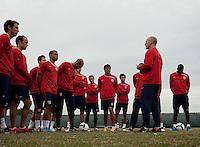 US Men's National Team. U.S. Men's National Team training at RFK Stadium  Monday October 12, 2009  in Washington, D.C.