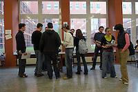 - University of Milan Bicocca, meetings of orientation for the freshmen....- Università di Milano Bicocca, incontri di orientamento per le matricole....