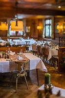 Europe/Allemagne/Bade-Würrtemberg/Forêt Noire/Durbach: Restaurant de l' Hôtel  Ritter , ou F Miterrand et  Helmut Kohl ont déjeuné