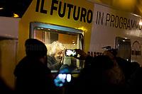 02.03.2018 - Five Star Movement: Closing Campaign in Piazza Del Popolo