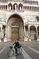 La Cattedrale di Santa Maria Assunta a Cremona.<br /> View of the Cathedral of Santa Maria Assunta, in Cremona.<br /> UPDATE IMAGES PRESS/Riccardo De Luca