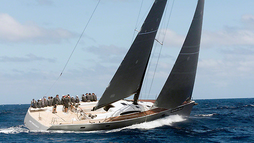 The Reichel Pugh 72 Aragon – first in class in Rolex Middle Sea Race with Crosshaven's Nin O'Leary on board.