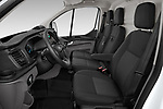 Front seat view of 2021 Ford Transit-Custom Trend 4 Door Cargo Van Front Seat  car photos