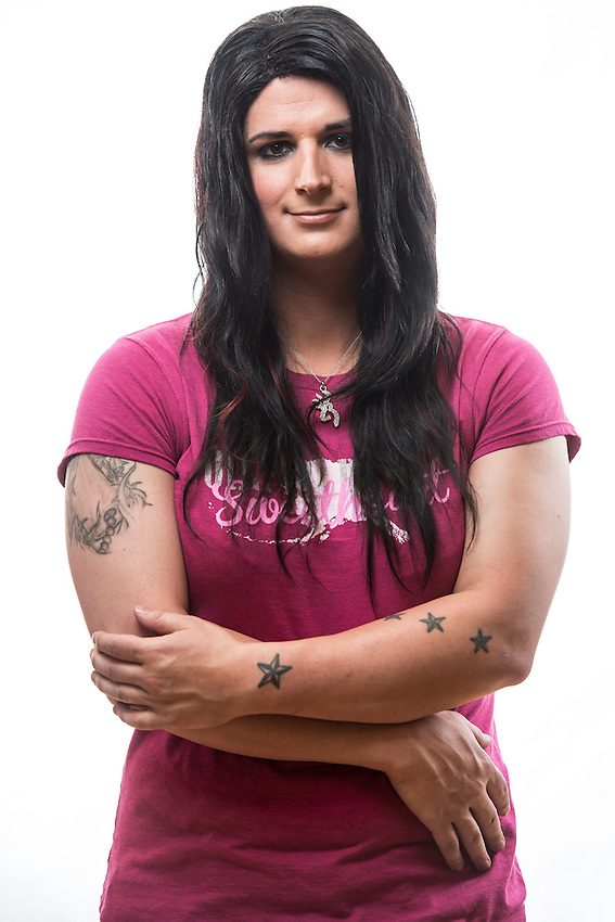"""Renee Kephart, from """"A Face For Every Name: Transgender in Alaska"""" story for the Anchorage Press."""