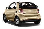 Car pictures of rear three quarter view of 2020 Smart EQ-fortwo Comfort-Plus 2 Door Convertible Angular Rear