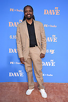 """LOS ANGELES, CA - JUNE 10: Executive Producer Saladin Patterson attends the Season Two Red Carpet event for FXX's """"DAVE"""" at the Greek Theater on June 10, 2021 in Los Angeles, California. (Photo by Frank Micelotta/FXX/PictureGroup)"""