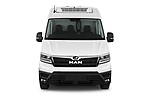 Car photography straight front view of a 2020 Man TGE - 4 Door Refrigerated Van Front View