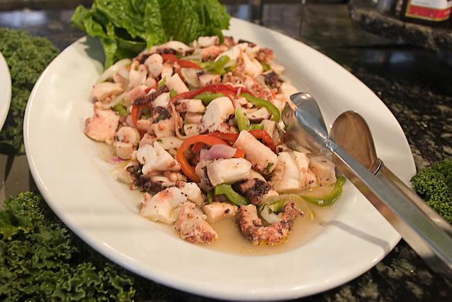 Squid, Porcao Restaurant, Miami, Florida