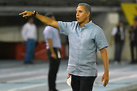 BARRANQUILLA  -COLOMBIA, 09-07-2016. Alexis Mendoza director técnico del Junior  durante encuentro contra el Medellín por la fecha 2 de la Liga Aguila II 2016 disputado en el estadio Metroplitano Roberto Meléndez ./ Alexis Mendoza  coach of Junior  during match against Medellín for the date 2 of the Aguila League II 2016 played at Metroplitano Roberto Melendez stadium . Photo:VizzorImage / Alfonso Cervantes  / Contribuidor