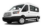 Ford Transit 350 XLT Med Roof Passenger Van 2016