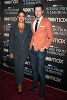 NEW YORK, NY- October 10: Keytt Lundqvist, Alex Lundqvist  at the HBOMAX premiere of Scenes From A Marriage at the Museum of Modern Art Titus Theatre in New York City on October 10, 2021 <br /> CAP/MPI/RW<br /> ©RW/MPI/Capital Pictures