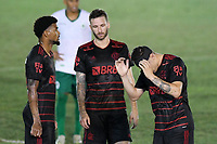 Saquarema (RJ), 27/03/2021 - Boavista-Flamengo - Hugo Moura jogador do Flamengo,durante partida contra o Boavista,válida pela 6ª rodada da Taça Guanabara,realizada no Estádio  Elccyr Resende,distrito de Bacaxá,Saquarema (RJ),neste sábado (27).