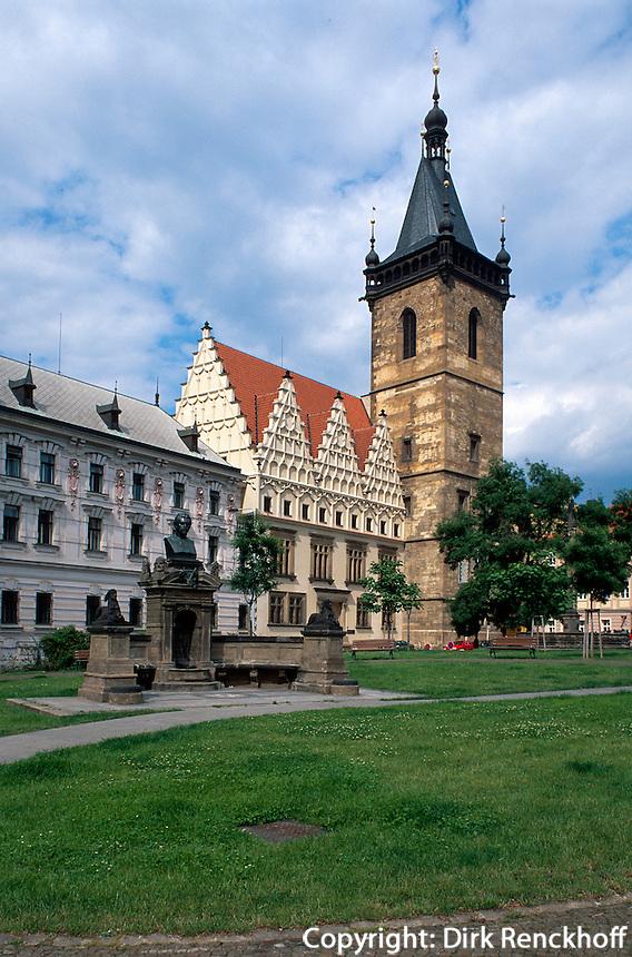 Neustaedter Rathaus, Prag, Tschechien, Unesco-Weltkulturerbe
