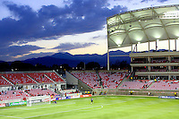 Rio Tinto Stadium before the New York Red Bulls @ Real Salt Lake 1-1 draw at Rio Tinto Stadium in Sandy, Utah on October 9, 2008.