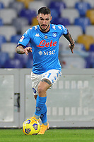 Matteo Politano of SSC Napoli during the Italy Cup football match between SSC Napoli and Empoli FC at stadio Diego Armando Maradona in Napoli (Italy), January 13, 2021. <br /> Photo Cesare Purini / Insidefoto
