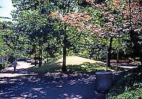 Portland: Pettygrove Park, Portland Center. Halprin & Assoc.  Photo '86.