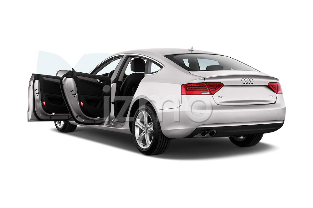 Rear three quarter door view of a 2014 Audi A5 Sportback AMBIENTE 5 Door Hatchback 2WD